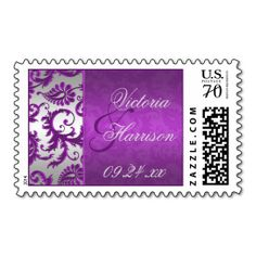 =>Sale on          Silver and Purple Damask II Wedding Postage           Silver and Purple Damask II Wedding Postage lowest price for you. In addition you can compare price with another store and read helpful reviews. BuyDeals          Silver and Purple Damask II Wedding Postage today easy ...Cleck Hot Deals >>> http://www.zazzle.com/silver_and_purple_damask_ii_wedding_postage-172593053731009107?rf=238627982471231924&zbar=1&tc=terrest