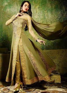 Image result for Angrakha Style dress photo