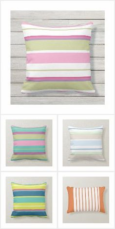 Save The Date Wording, Outdoor Material, Summer Stripes, Quilted Pillow, Cottage Living, Towels, Bed Pillows, Pillow Cases, Flip Flops