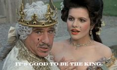 """""""It's good to be the king"""""""