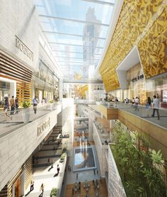 5 design: dragon valley retail district