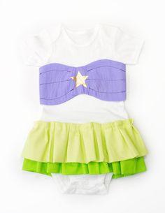 Baby Girl Birthday Disney Little Mermaid inspired Dress by PDS113