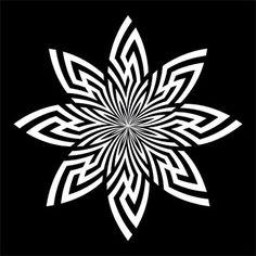 Swastika flower