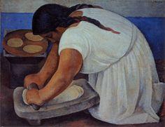 """La Molienda"" de Diego Rivera"