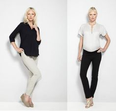 Maternity wear with a fashion edge by Slacks & Co.