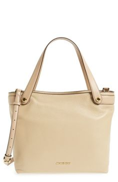MICHAEL Michael Kors 'Medium Hyland Convertible' Leather Shoulder Tote available at #Nordstrom