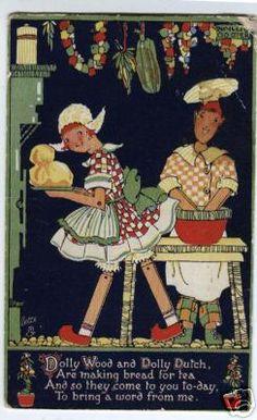 Phyllis Cooper postcard (1895-1988)  Happyland series 1923