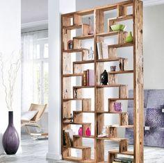Bookshelf Room Divider, Room Shelves, Bookcase, Crate Shelves, Display Shelves, Shelving, Cool Walls, Storage Spaces, Home Furniture