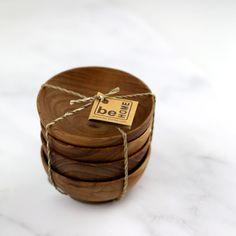 Be Home Teak Set of Bowls  | Gifts for the Chef + Bartender | www.heydaybozeman.com