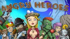 """Angry Heroes"" iPhone/iPod Touch/iPad Gameplay!  #gameplay #iosgames #videos #trailer #walkthrough"