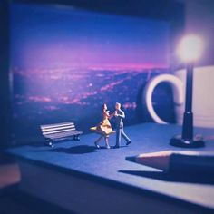 Miniature Office – Quand un employé créatif crée des scènes miniatures | Ufunk.net