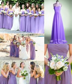 Purple: The Color for Bridesmaids 2014