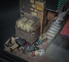 Blade Runner model kit gallery  Blade Runner diorama inspiration 1/24 available: more pictures studio1983prodpro...