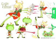 "Character designs for Ankama's video game ""Abraca"" - Bill Otomo"