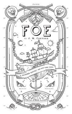 Book Cover Illustration & Design for Penguin Books | Foe on Behance by Oddds