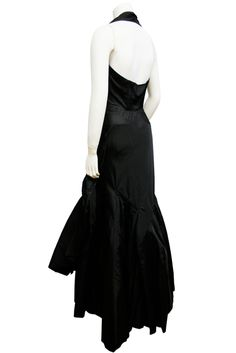 ca. 1951  Evening gown by Cristobal Balenciaga from the collection of 1951 dedicated to the Flamenco.