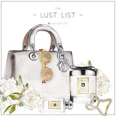 THE LUST LIST | Guilty Pleasures #thelustlist #Dior #jomalone #chanelresort2015 #celine