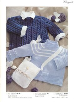 Albums archivés Cardigan Bebe, Knit Cardigan, Baby Knitting Patterns, Leg Warmers, Free Pattern, Archive, Couture, Sweaters, Albums