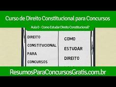 Aula 0 - Como estudar direito constitucional para concurso? - http://resumosparaconcursosgratis.com.br/direito-constitucional-para-concurso/aula-0-como-estudar-direito-constitucional-para-concurso/