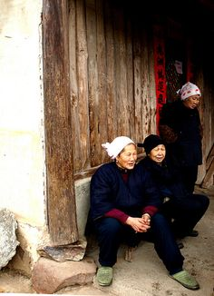 Village women . Guangxi, China