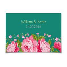 Antwortkarte Blütenzauber in Smaragd - Postkarte flach #Hochzeit #Hochzeitskarten #Antwortkarte #kreativ #modern https://www.goldbek.de/hochzeit/hochzeitskarten/antwortkarte/antwortkarte-bluetenzauber?color=smaragd&design=51688&utm_campaign=autoproducts