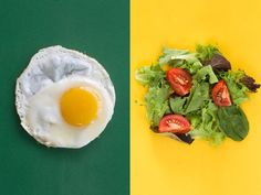 Eating eggs with your salad helps boost absorption of carotenoids — beneficial pigments in foods like tomatoes and carrots.