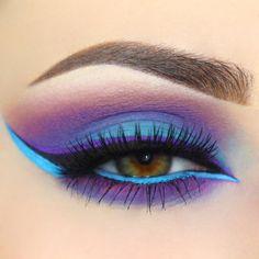Gorgeous Makeup: Tips and Tricks With Eye Makeup and Eyeshadow – Makeup Design Ideas Pretty Eye Makeup, Beautiful Eye Makeup, Natural Eye Makeup, Cute Makeup, Glam Makeup, Eyeshadow Makeup, Makeup Inspo, Makeup Inspiration, Makeup Ideas
