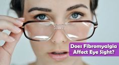 There are a number of issues that you can have when it comes to your eye sight in relation to fibromyalgia. Your vision may start to become blurry or you will start to struggle with double vision and you can't see straight. Eyes Problems, Thyroid Problems, Fibromyalgia Pain, Chronic Pain, Chronic Fatigue Syndrome, Chronic Illness, Las Vegas, Scoliosis Exercises, Degenerative Disc Disease