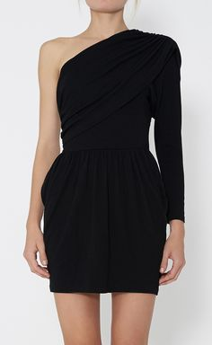 Edgy twist on the classic LBD. love.