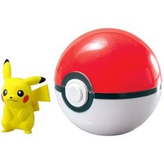 Amazon.com: Pokémon Clip & Carry Poké Ball Pikachu + Poké Ball: Toys & Games