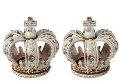 Crown candleholders