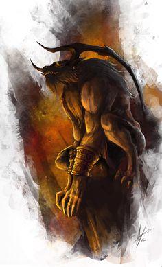 Ifrit emperador del fuego una de las invocaciones de Final Fantasy X