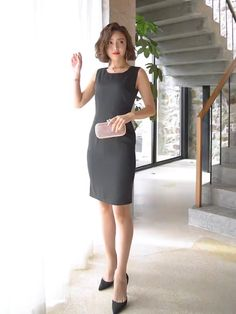 Style office lady is_customized no Office Outfits Women, Casual Outfits, Office Dresses, Suits For Women, Clothes For Women, Ladies Suits, Plus Size Costume, Look Office, Pencil Skirt Outfits
