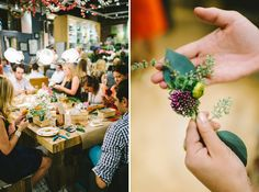 such a fun idea for a party! Flower Potluck Party - everyone brings flowers then makes headbands, bouquets, garlands, etc.
