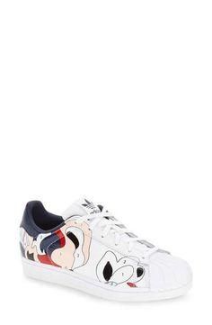 buy popular fd924 bff36 adidas  UF Superstar - Rita Ora  Sneaker (Women) Baskets Blanches,  Chaussures