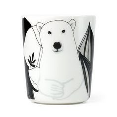 marimekko latte mug via 今日も、しろくま専門店