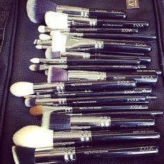 Proper brushes make a huge difference..
