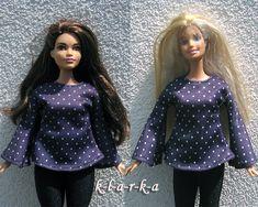 Halenka+pro+paneku+Barbie+i+baculku+Halenka+z+úpletovélátky+se+zvonovými+rukávy+na+Barbie.+Jevhodná+jak+na+běžnou+Barbie,+taki+baculku+(Curvy+Barbie).+(Barva+je+spíš+temně+modrá+než+do+fialova)+(panenka+se+neprodává+je+pouze+modelka)+3+