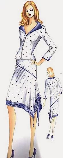 quenalbertini: Marfy 2005 by Irina Vladimirova, Picasa Web Albums Fashion Art, Fashion Outfits, Womens Fashion, Nice Outfits, Marfy Patterns, Italian Pattern, Vintage Sewing Patterns, Fashion Sketches, Dame