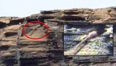 Possible Lizard enters cave on Mars |UFO Sightings Hotspot