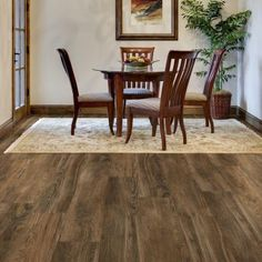 Trafficmaster Allure Ultra Wide 8 7 In X 47 6 Gunstock Hickory Resilient Vinyl Plank Flooring 20 Sq Ft Case 100212 The Home Depot