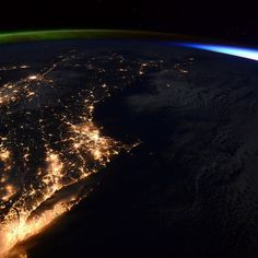 From the ISS / NASA