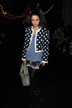 Bip Ling, veryfirstto.com Luxforecast Connoisseur,at the Charles Anastase show. Image via Zimbio.