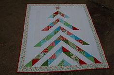 Moda Bake Shop: Oh, Christmas Tree Quilt