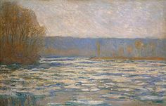 Débâcle de la Seine près Bennecourt (C Monet - W 1340) | Flickr - Photo Sharing!