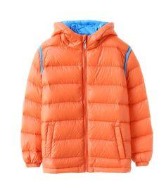 Amazon.com: Hiheart Winter Jacket Boys Patchwork Parkas Coat with Hood: Clothing