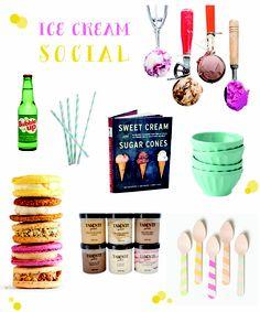 inspired entertaining :: summer scoops