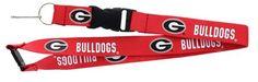 Georgia Bulldogs Lanyard - Red
