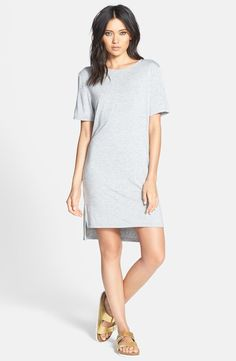 Knit T-Shirt Dress /