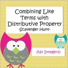Distributive property | Third Grade | Pinterest | Distributive ...